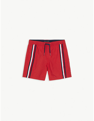 Tommy Hilfiger Stripe-print swim shorts 4-16 years
