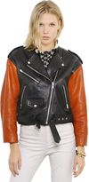Isabel Marant Nappa Leather Moto Jacket