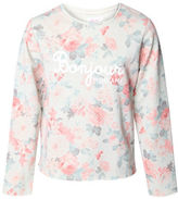 Dex Rose Print Long-Sleeve Top