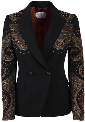 The Extreme Collection Black Crossover Blazer Naomi