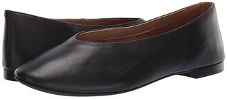 Aerosoles Front Runner (Black Leather) Women's Flat Shoes