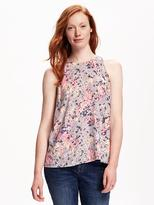 Old Navy High-Neck Trapeze Tank for Women