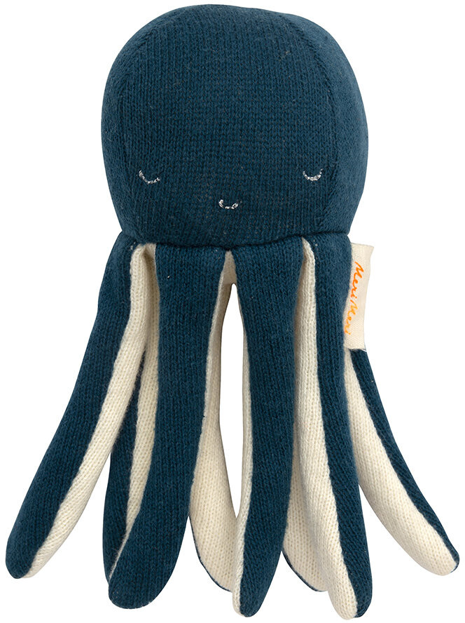 Thumbnail for your product : Meri Meri Knitted Baby Rattle - Octopus