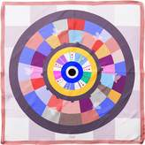 Cyclades Silk Scarf Wheel of Luck