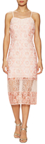 BCBGeneration Lace Sweetheart Cocktail Dress