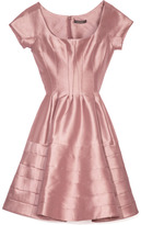 Zac Posen Silk Faille Cocktail Dress