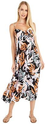 Billabong Twist It Dress (Off-Black) Women's Dress