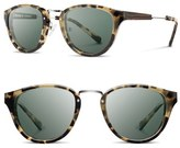 Shwood Women's 'Ainsworth' 49Mm Polarized Sunglasses - Amber/ Gold/ G15 Polar
