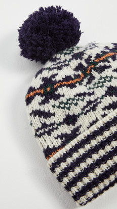 Tory Burch Fair Isle Jacquard Hat