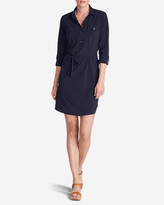 Eddie Bauer Women's Departure Long-Sleeve Shirt Dress
