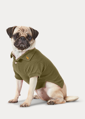 Ralph Lauren Cotton Mesh Dog Polo Shirt