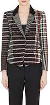Haider Ackermann Women's Metallic Virgin Wool-Blend Tweed Crop Jacket