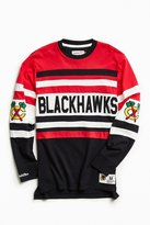Mitchell & Ness NHL Open Net Chicago Blackhawks Long Sleeve Tee