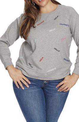 Court & Rowe Bristol Sweatshirt in Gray Hthr Size 1X