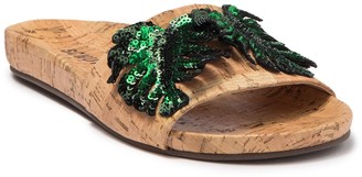 Schutz Thanya Cork Slide Sandal