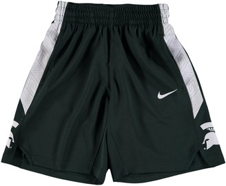 Nike Youth Green Michigan State Spartans Holiday Replica Basketball Shorts