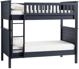 Pottery Barn Kids Charlie Twin-over-Twin Bunk Bed with Mattresses