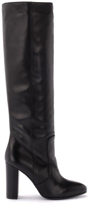 Via Roma 15 Boot Made Of Black Leather