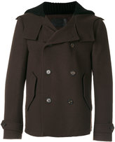 Dolce & Gabbana double breasted coat - men - Cotton/Polyamide/Spandex/Elastane/Virgin Wool - 50