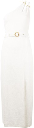 SUBOO Kaia one-shoulder dress