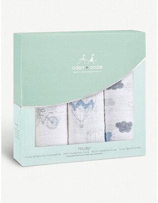 Aden Anais Night Sky Reverie Musy cotton muslin squares set of three