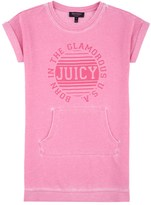 Juicy Couture Girls Fashion Track Graphic French Terry Dress