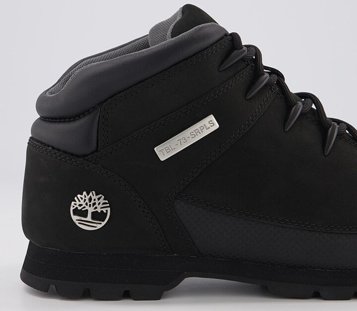 Thumbnail for your product : Timberland Eurosprint Hiker Boots Black Nubuck