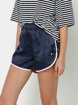 Le Coq Sportif New Womens Paige Shorts In Navy Shorts Short Athletics