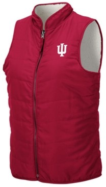 Colosseum Women's Indiana Hoosiers Blatch Reversible Vest