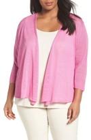 Nic+Zoe Plus Size Women's Four-Way Convertible Cardigan