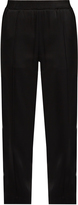 Haider Ackermann Glyzine smocked-waist satin trousers
