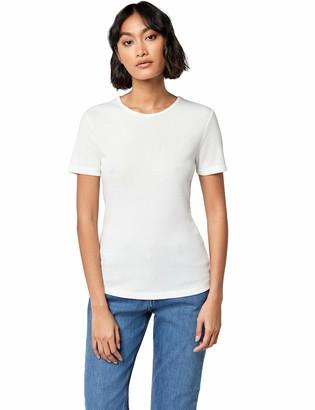 Meraki Women's Standard Rib Crew Neck T-Shirt