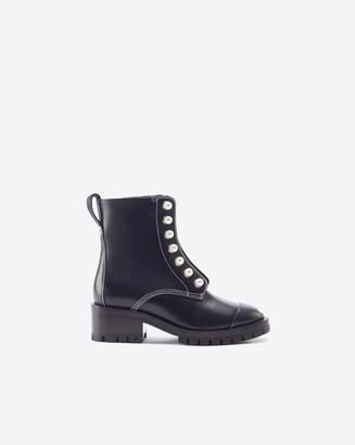 3.1 Phillip Lim Hayett Pearl Zipper Boot