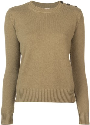 ALEXANDRA GOLOVANOFF Long-Sleeve Fitted Sweater