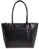Lodis Audrey Under Lock & Key - Medium Margaret Rfid Leather Tote With Zip Pouch - Black