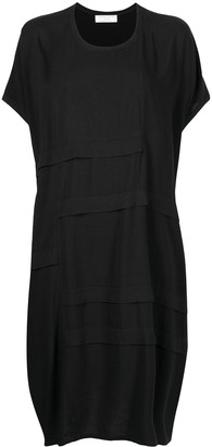 Societe Anonyme Tiered Design Shift Dress