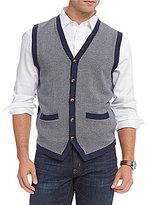 Daniel Cremieux Herringbone Sweater Vest