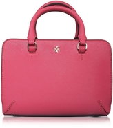 Tory Burch Robinson Saffiano Leather Micro Zip Crossbody Bag