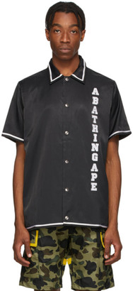 BAPE Black Relaxed Classic Disco Short Sleeve Shirt