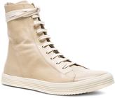 Rick Owens Leather Mastosneaks