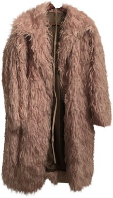 N°21 N21 Pink Faux fur Coat for Women