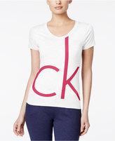 Calvin Klein Short-Sleeve Logo Tee