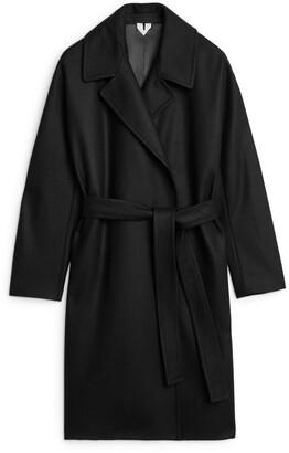 Arket Melton Wool Belted Coat