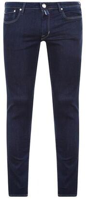 Jacob Cohen Black Pony Badge Jeans