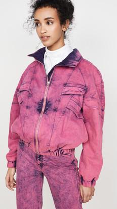 Stella McCartney Neon Pink Galaxi Jacket