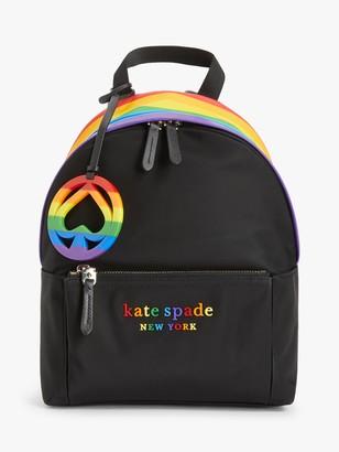 Kate Spade Rainbow Nylon Backpack, Multi