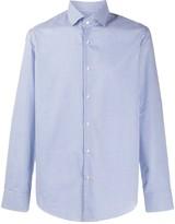 BOSS Long Sleeved Checked Shirt