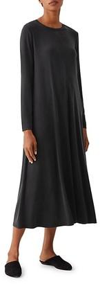 Eileen Fisher Crewneck Midi Dress