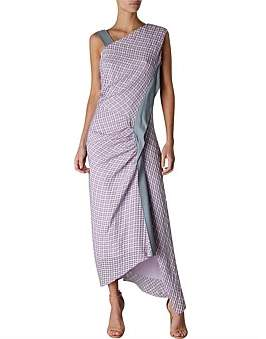 Columbia Bianca Spender Lavender Check Dress