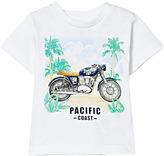 Mayoral White Motorbike Print Tee